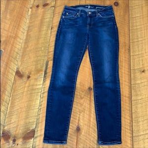 7 For all Mankind Gwenevere skinny jeans Size 26